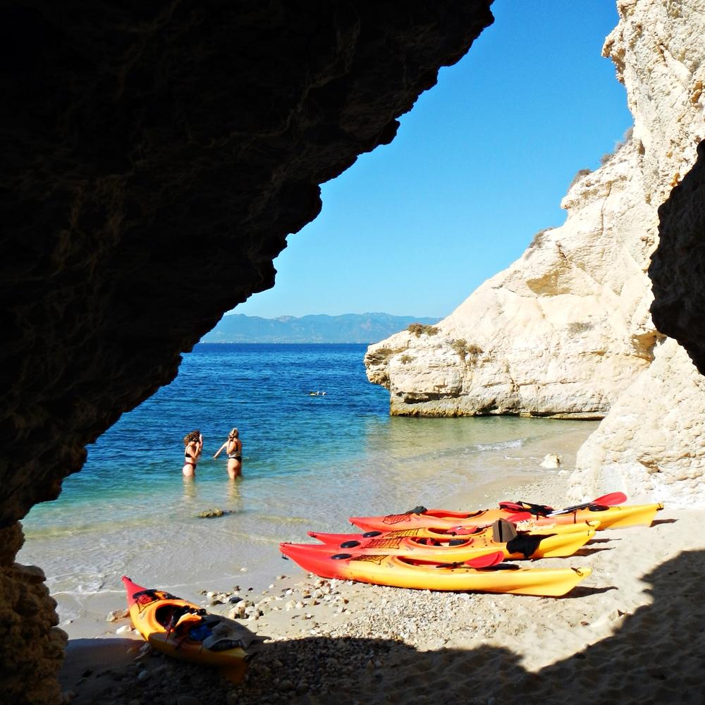 Vacanza green in Sardegna: Kayak