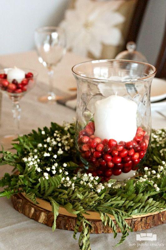 Decorazioni naturali per un Natale sostenibile