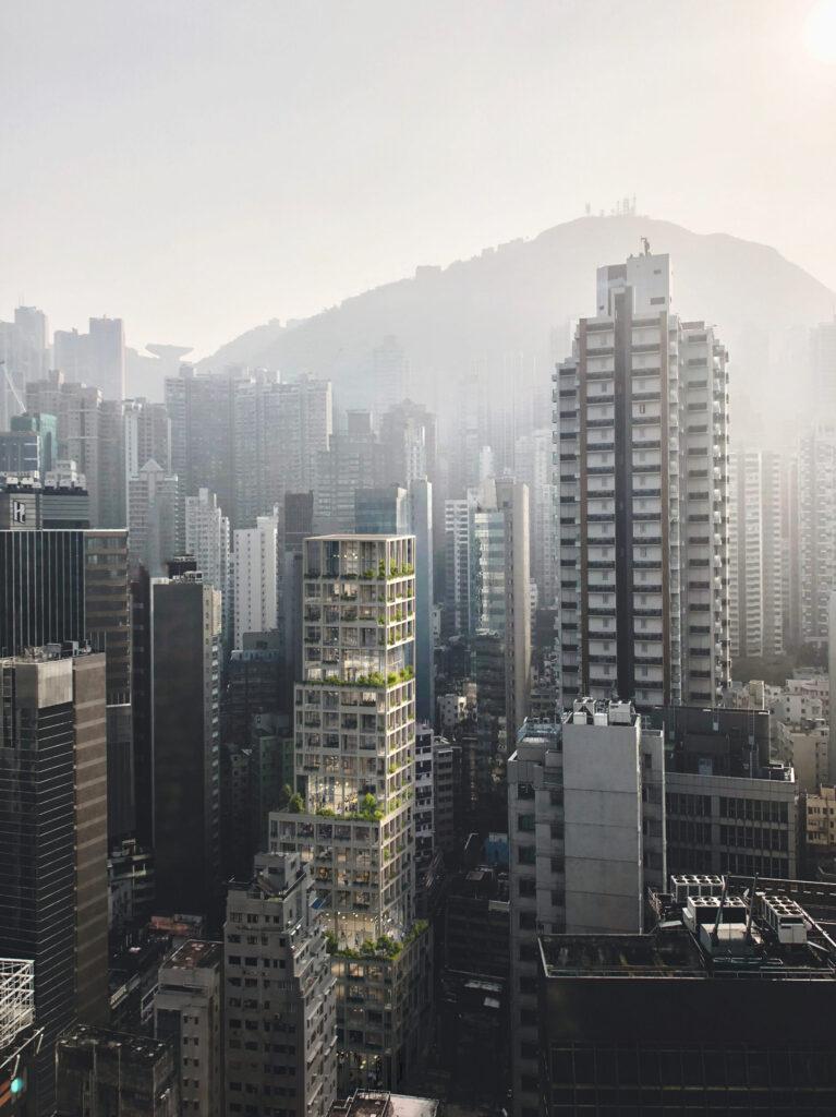 urban village project in una grande cità