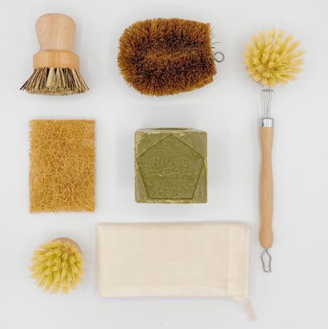 Pulizie di casa green: kit pulizie cucina Greentribu