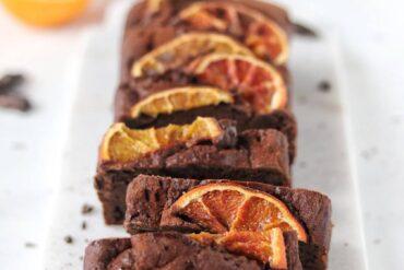 banana bread arancia e cioccolato