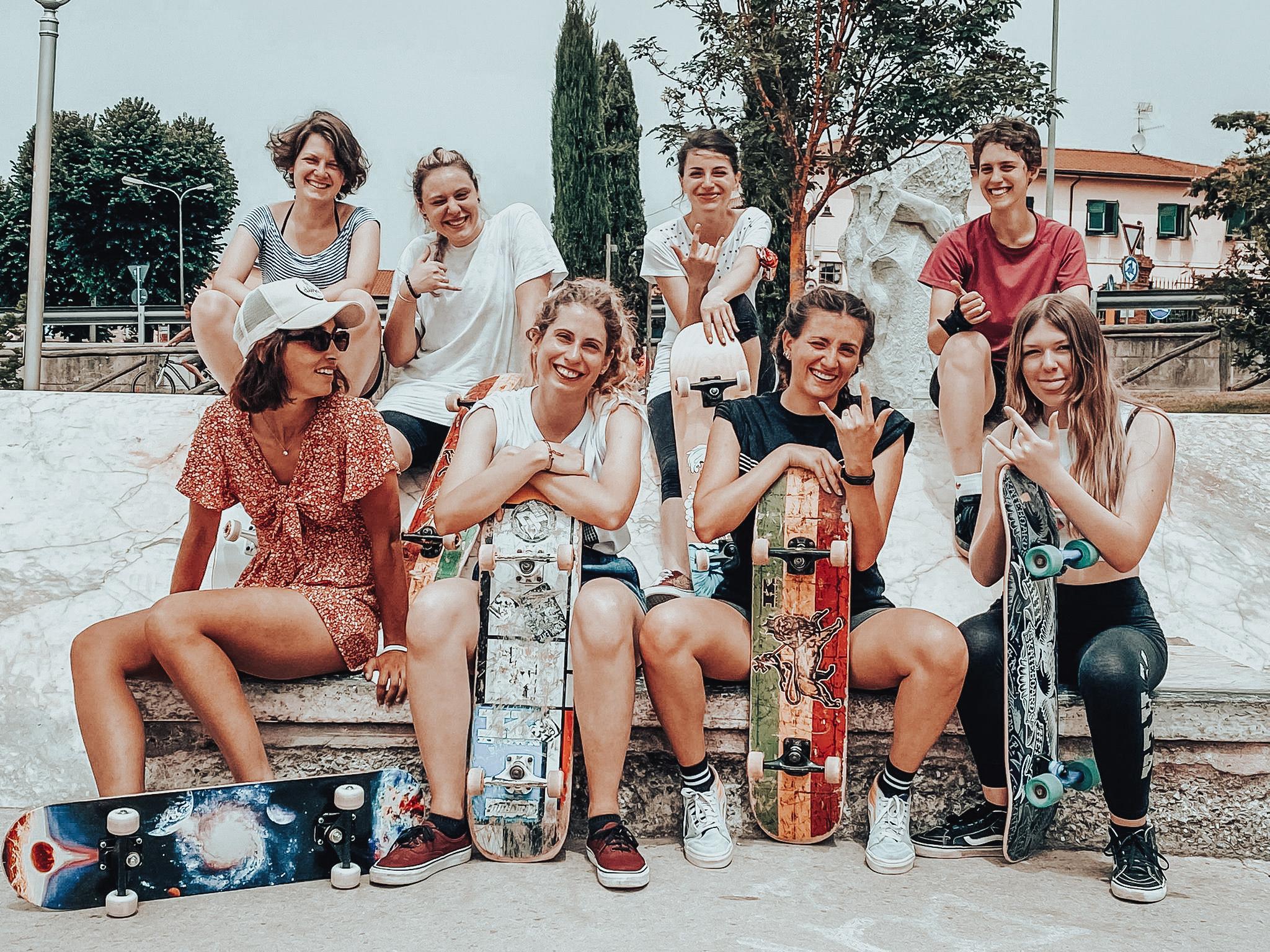 skateboarding leadership femminile